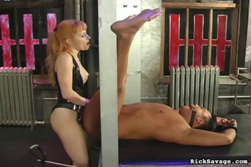 Femdom and Strapon Submit To Mistress Lola Pt 2