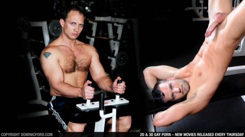 Dominic Ford - John Magnum & Steven Daigle - Gym Fuck