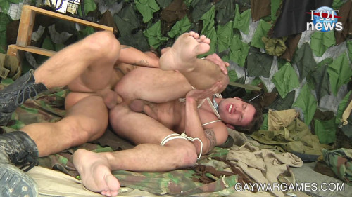 Gay BDSM Winter in the Forest - part 04