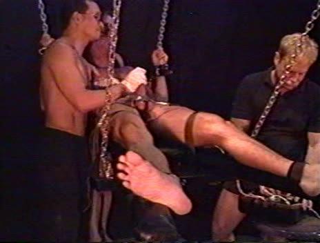 Gay BDSM Excruciating Bondage