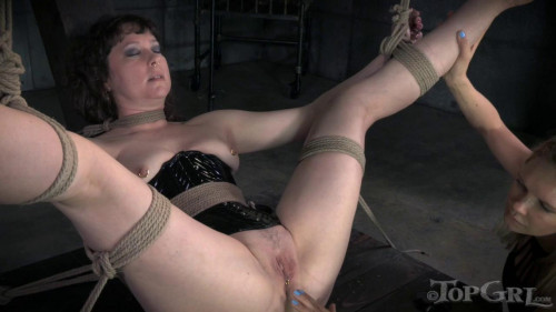 bdsm TG - Pierced - Anna Rose and Rain DeGrey - January 26, 2015 - HD