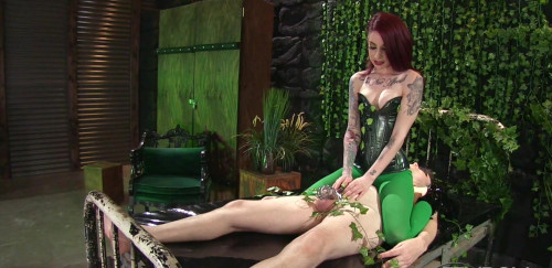 Femdom and Strapon Sheena Rose Poison Ivy Toxic Seductress