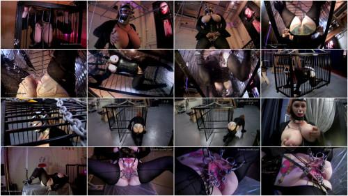 BDSM slave m - uber cage