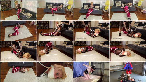 BDSM SBound - Whitney Morgan.. Sassy Disco Girl Gets Hogtied and Tape Gagged