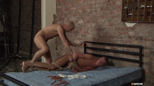 Gay BDSM Using Slave Boy Kenzie (Deacon Hunter, Kenzie Mitch)