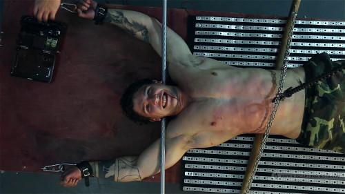 Gay BDSM Captured Paratrooper - Part II