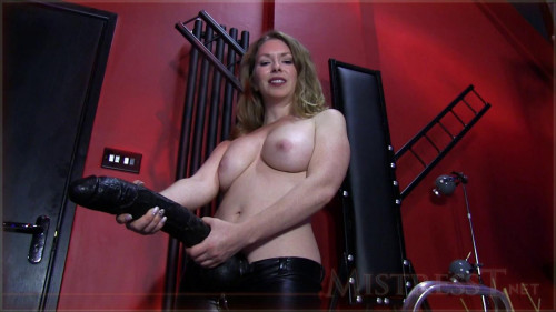 Femdom and Strapon Accept the humiliation of your Mistress-nothingness part 9