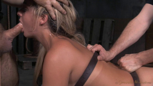 BDSM Madelyn Monroe - Ass Up and Roughly Fucked With Brutal Deepthroat!