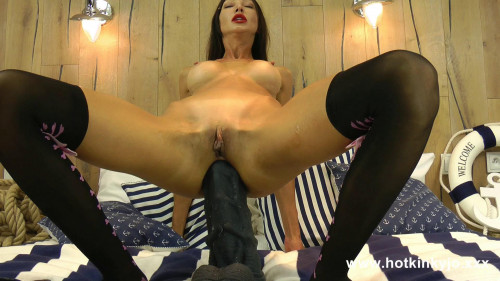 Fisting and Dildo Extreme  dildo in Hotkinkyjo anal hole and prolapse