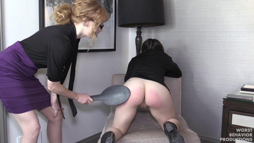 BDSM Wednesday Paddled and Penalty Swats - HD 720p