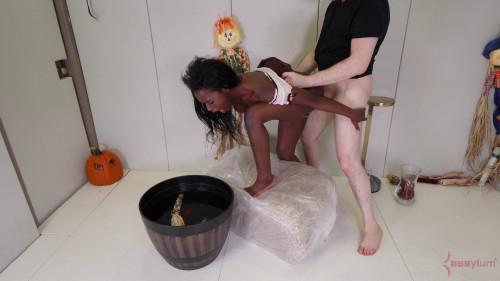 BDSM Anal Trick or Treat!