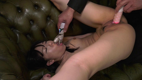 Asians BDSM Plump Girl Getting Fucked At Obscene Training!
