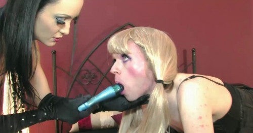 Femdom and Strapon Feminised By Liza Part 1