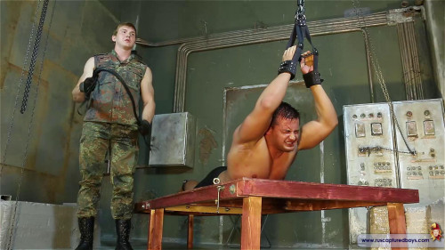 Gay BDSM RusCapturedBoys - Pain Experiment with Athlete - Part I