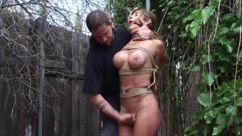 BDSM Tight bondage, strappado and spanking for sexy naked model Full HD1080