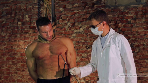 Gay BDSM Resale of Bodybuilder Roman - Final Part
