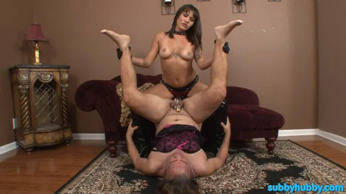 Femdom and Strapon Porn Most Popular Subby Hubby Collection part 28