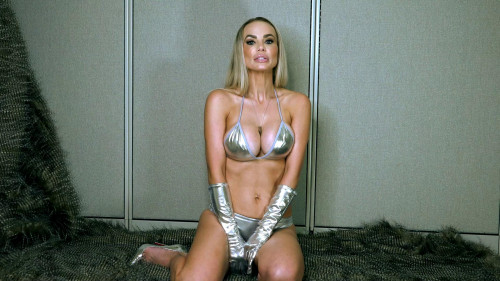 Femdom and Strapon Goddess Platinum Let Me Own You
