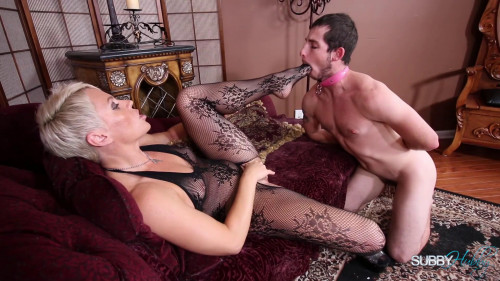 Femdom and Strapon Turning A Subby Into A Cuck Domina Helena