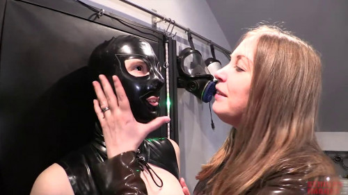BDSM Latex Bondage, domination and torture for sexy bitch in latex (part1)