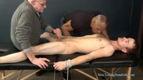 Gay BDSM Four Hands on Justin