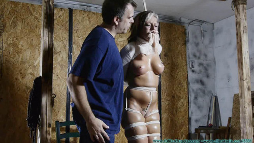 BDSM Courtney Begs For Bondage, Gags, and Punishment - Part 2