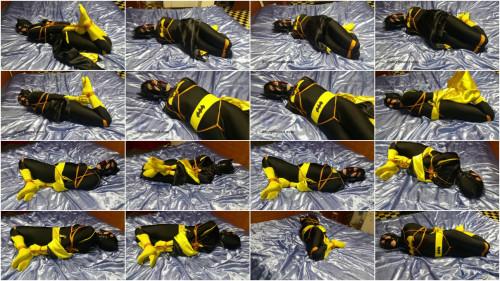 BDSM SBound - Simone.. Batgirl Hogtied