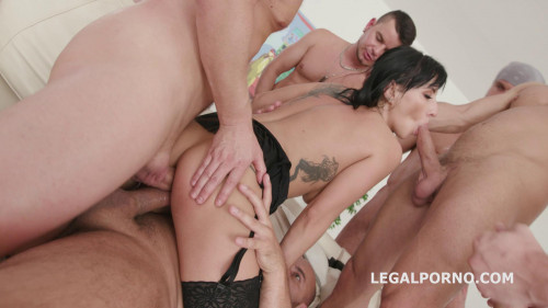 Legal Porno - Welcome to Porn Cherry Vine 5 on 1 Anal