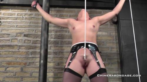 BDSM Tied orgasm