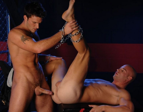 Gay BDSM Trystan Fucks and Patrick Rouge - Sweet Torture