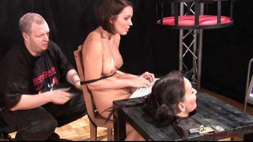 BDSM Torture tied