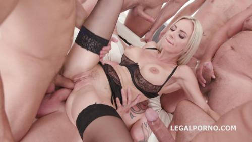 Legal Porno - 7 on 1 DAP gangbang Natalie Cherie