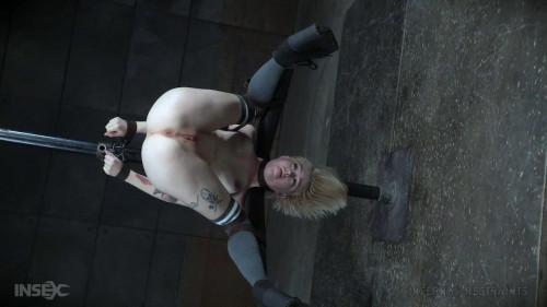 BDSM Petite Sexy Blonde Gets Metal BDSM Treatment
