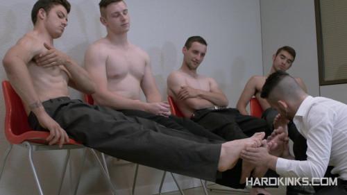 Gay BDSM Hard Kinks - Fifty Shades of Tyler (Tyler Roding, Ricky Ruiz, Eloy Fox, Abel Bunker)