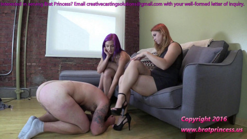 Femdom and Strapon Pet of women