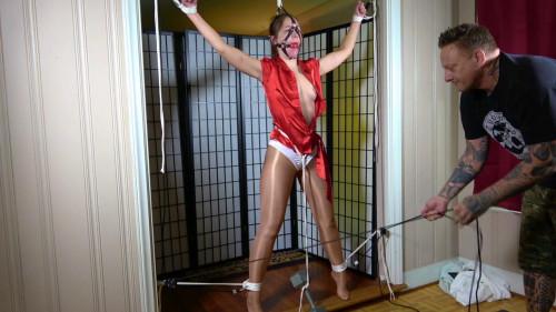 BDSM ShinyB - Rachel Adams.. My Shiny Captive Part 1