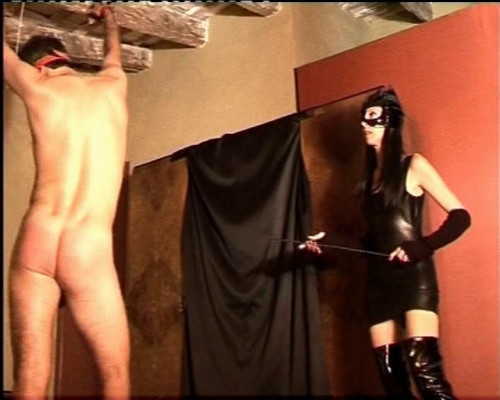 Femdom and Strapon He has to be hurt