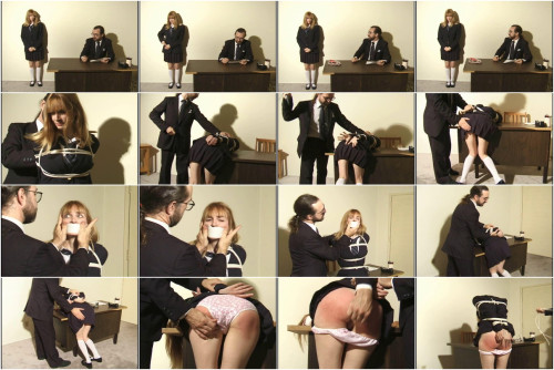 bdsm Bound and Gagged - Spanked Schoolgirl Lorelei - Naughty Student Part 1
