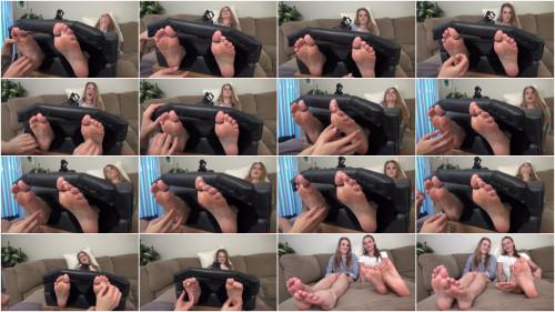 BDSM HD Bdsm Sex Videos Ashley Lane Crazy Ticklish Feet