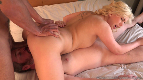 Femdom and Strapon Cindy Lou half a man