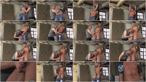 Gay BDSM Toby Tied Down & Tortured