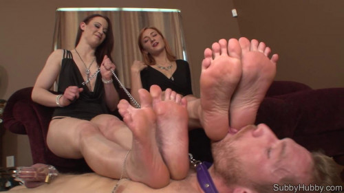 Femdom and Strapon FemDom Cuckold and Sissy Maids part 1