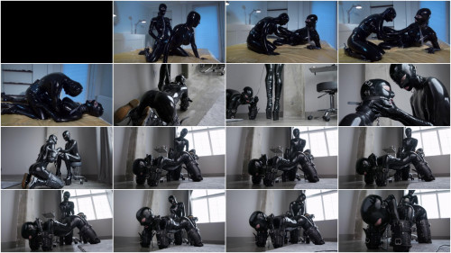 BDSM Latex Super bondage, domination and torture for sexy models in latex