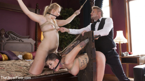 BDSM Fresh & Useless: Brand New Girls Sexually Exploited by The Butler