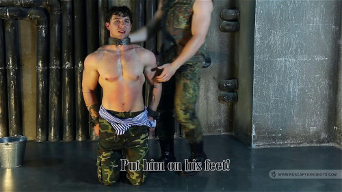 Gay BDSM Captured Paratrooper - Part I