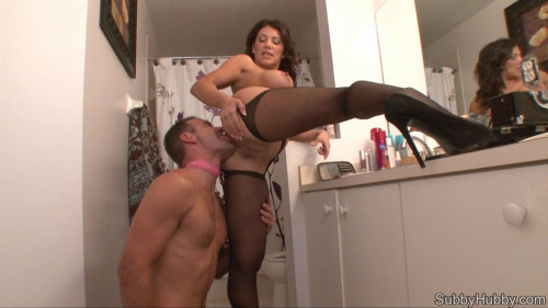 Femdom and Strapon Porn Most Popular Subby Hubby Collection part 39