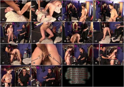 BDSM Slavegirls Electric Chastity Belt