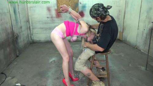 BDSM HunterSlair - Lexi Lane - Strappado blow job