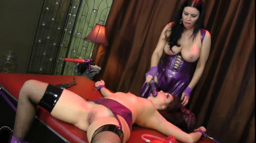BDSM Latex Nice Sweet Hot Good Collection Of Anastasia Pierce Production. Part 4.