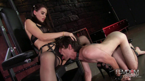 Femdom and Strapon Mistress Lana Rhodes-I Ride Slave Face